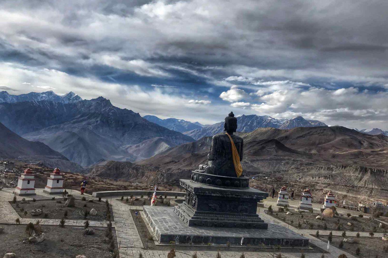Annapurna Circuit Trek - At Muktinath