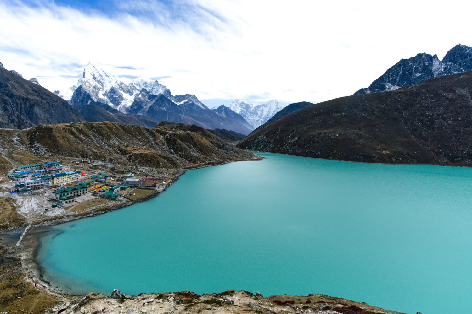 Everest Base Camp Trek via Gokyo Lake and Cho La Pass